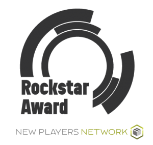 Claims Rockstar Award black